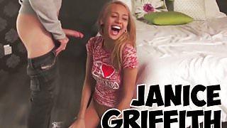 Janice Griffith getting slutty on set