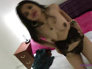 Gujarati Bhabhi Kavya Sharma Stripping Naked In Bedroom For