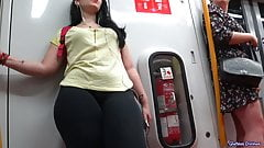 Thick Thighs For The Guys, Nice Front View and Cameltoe