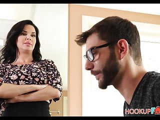 Horny Big Tits MILF Stepmom Veronica Avluv Fucked By Stepson
