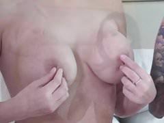 Lesbian Tit Play