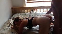 Big Booty Athletic Teen White Girl Doggystyle