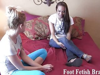 Free lesbian vedios - Lesbian foot worship for free yoga lessons