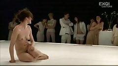 nude on stage