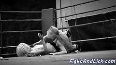 Petite euro wrestling busty les babe