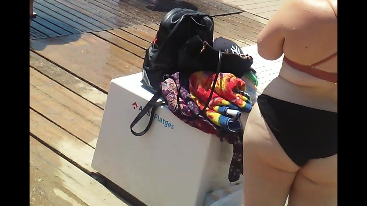 Candid Midget With Fat Ass At Beach, Free Porn 3E Xhamster-8780