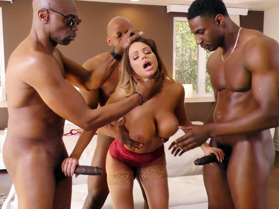Brooklyn chase gang bang