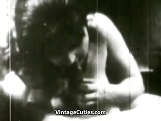 Preview 5 of Booty Chick Doing Naughty Moves (1950s Vintage)