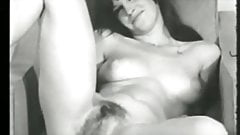 Vintage Models Showing Pussy BW Vol 01