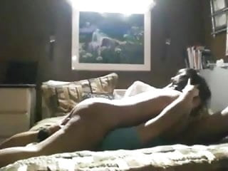 Hot American Indian College Teen Fucks White BF At Hostel