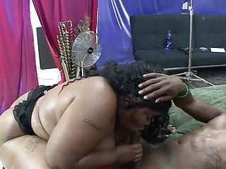 Black on black titty fucking and hardcore fucking on the carpet