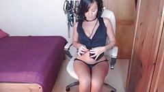 Jazmina Volcan en la webcam 2