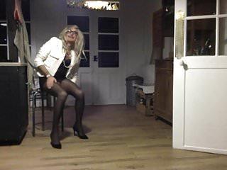 TRAVESTI CD TS TV SISSY EXHIB COLLANTS PANTYHOSsmoking sexy