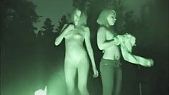 American Girls Strip By The Fire Before Sex