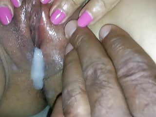 The ex's mom gets a nice creampie(Part 2)