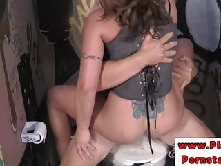 Eva Notty huge tits riding on cock