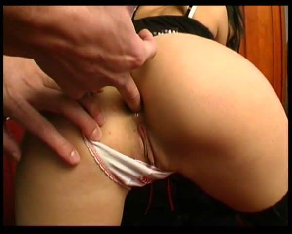 Young amateur french ass pounded and creamed for her casting