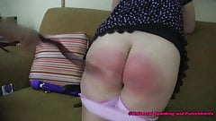 Taking A Spanking for Love
