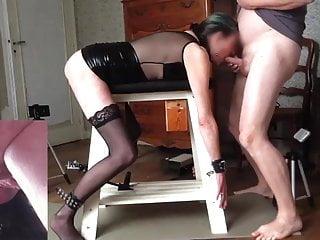 Bondage and big dildos pt 1of5