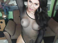 Hot Bodysuit Big Cock Stroker