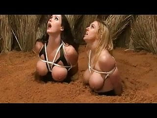 Nude Busty Women In Quicksand