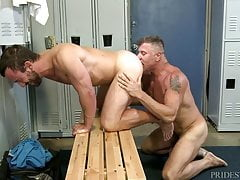 MenOver30 Cheating Husband Ass Fucked at Gym