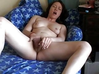 Chubby Ex GF loves to masturbate her dirty wet hairy pussy