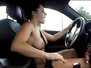 Cute Girl Drivethrough Naked