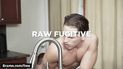 Jeff Powers with Roman Todd at Raw Fugitive Scene 1