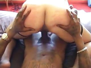 Mature hotwife takes big black cock