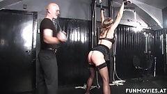 bondage forced orgasm Granny