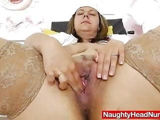 Iva gets plenty pervy as the head nurse