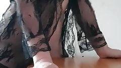 coroa sexo com a mesa