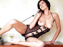 Big titted babe Suzanna A