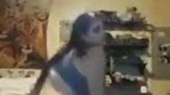 Crazy bbw dancing