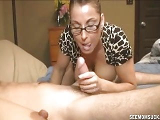 Busty Milf Sucks A Dick In Front Of Not Her daughter
