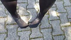 My Legs and Feet with Cum on my Feet