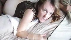 Milf enjoys sucking and fucking  BBC 3some