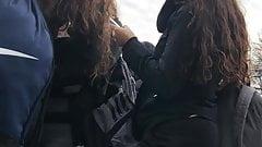 Sexy Teen Girls Ass Close Up