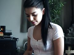 GINA VALENTINA IS CURIOUS ABOUT COCK