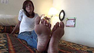 Hostess of the Hotel Soles Feet