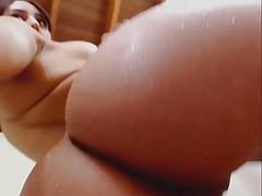 Great Latin Teen Teasing Big Nice Tits & Pussy