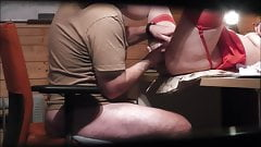 Danish Office Milf Fucked and Squirted on my Desk