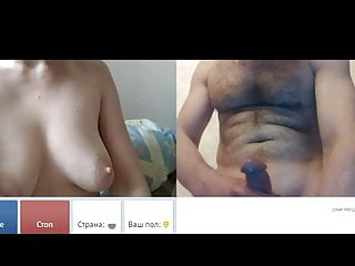 Videochat #89 Female's orgasm with my dick