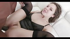 be like russian slut Sofy - open all and eat all bbc cum