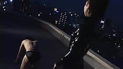 Asian femdom whipping