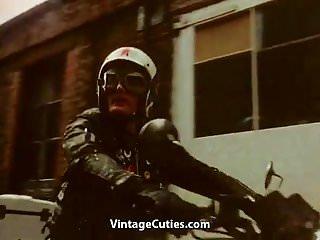 Preview 1 of Sexy German Nurse Fucks Wild (1970s Vintage)