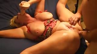 Big Boobs MILF loves anal and squirts