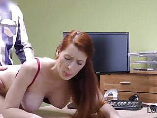 Loank Loan Agent Can Assist Red Haired Beauty If She