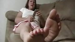 Mature Joi Lilly Soles